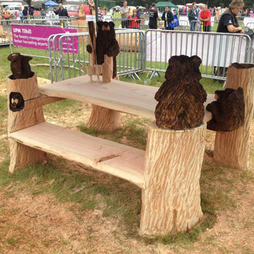 Bear Picnic Table